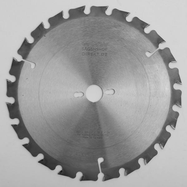 HW Baustellen - Kreissägeblätter mit grossem seitlichen Zahnüberstand