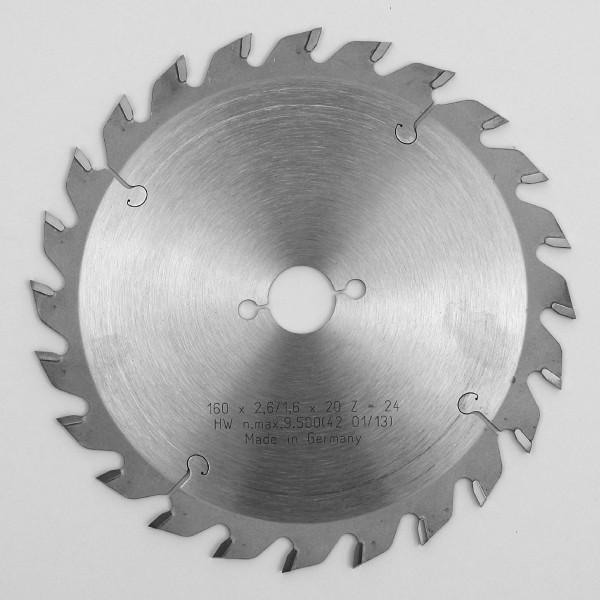 HW - Kreissägeblätter für Handmaschinen WZ