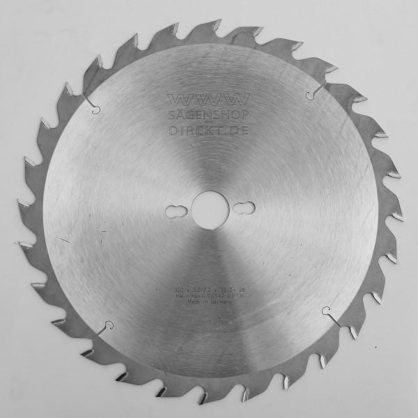 HW Zuschnitt - Kreissägeblatt (offene Form)